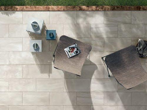 porcelain tile outside