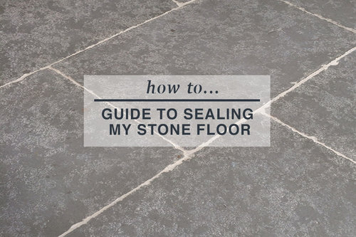sealing my stone flooring