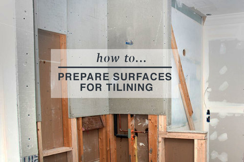 prepare your subfloor for tiling